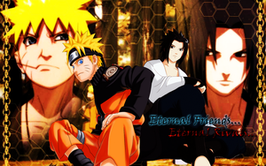 Naruto_Sasuke - Wallpaper by WHiT-3