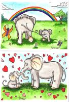 Elly Phant - Just the Two of Us by DredFunn