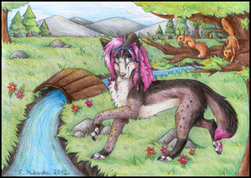 AT: Lila by SnowSnow11