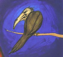 The Ugly Vulture by Scuter