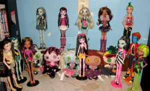 My Monster High collection by TheQueenCrusnik
