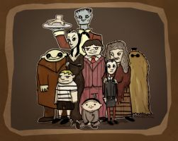 The Addams Family by Kyber02