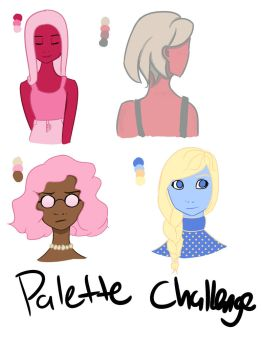 Palette Challenges by ReaganIridescence