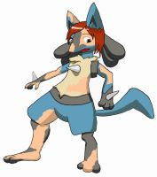 Lucario TF by foxtongs