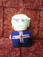 Iceland Mini Plushie by snowtigra
