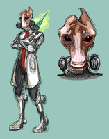 Mordin: The Professor by ScrapCity