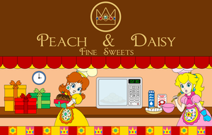 Peach and Daisy: Fine Sweets by RafaelMartins