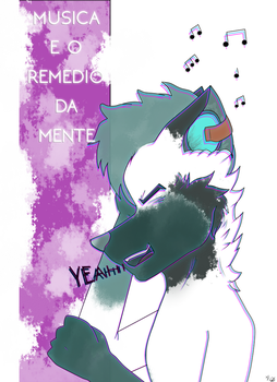 Music is the remedy of the brain by Foxymenn