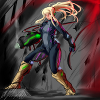 Perfect Works - Samus by PeterPrime