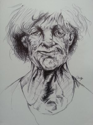 Peter Howson Study 1#