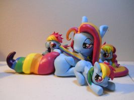 Rainbow Family Commission by EarthenPony