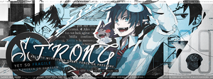 Rin Timeline Cover #1 - Strong yet So Fragile by VyeraLin