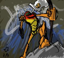 Samus is overly dramatic by BobTheDragon
