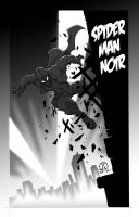 SPIDERM-MAN NOIR by JoeyVazquez