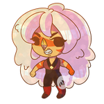 Jasper Chibi for Phone Charm by BlueyedRED