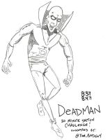 Deadman 10 Minute Sketch Challenge by MonkeySquadOne