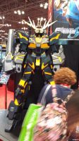 NYCC 2013: A Gundam and.. Carrot top? by Kitedot