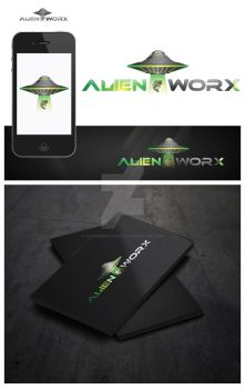Alien Worx logo by overminded-creation