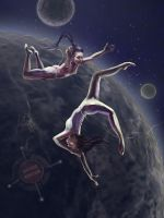 Space circus by Galchi
