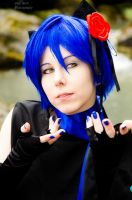 Vocaloid - Kaito Shion [Setsugetsuka] by pure-faces