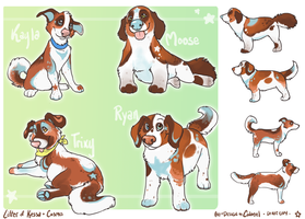 KessaXCosmo Litter by Colonels-Corner