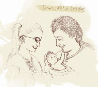 Emma, Neal and Little Henry by AmyLeeKey