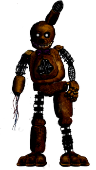 The Joy Of Creation Fan Made Ignited Spring Bonnie by Bonnie-From-Fnafb