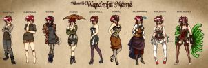 Wardrobe meme by androidfink
