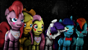 FnaAj's/Pinkies Toy animatronics [DL] by Thespahthatspies