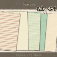 Baby Girl - Papers by photoshop-stock