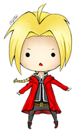 Edward Elric by CrayonStix