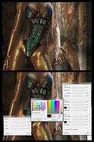 xnalara tutorial: color settings for ultrawetness by 7ipper