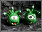Zombie Beholders by AnahRessa