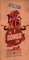 songs for him and her poster by sounddecor