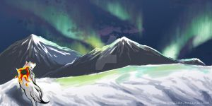 polar lights by Luphin