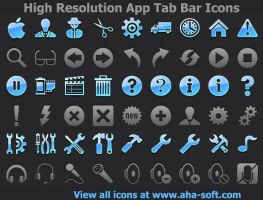 High Resolution App Tab Ba... by shockvideo