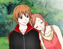 Otani and Risa by chuchie7