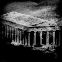 Greek Temple by lostknightkg