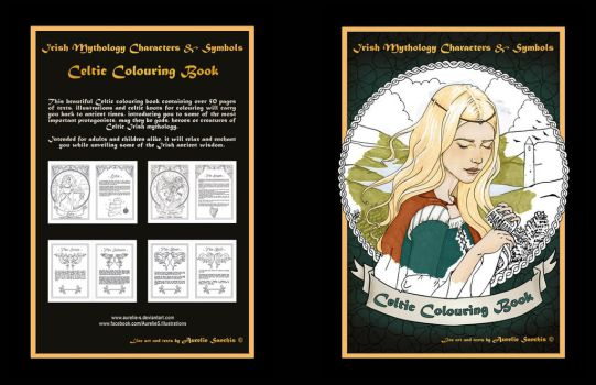 My Celtic Colouring Book by Aurelie-S