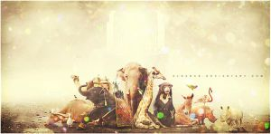 The Animals Planet Show by alsarab