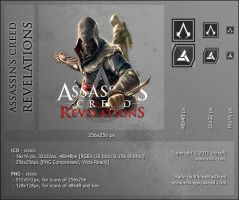 Assassin's Creed: Revelations, Dock Icon by VikingWasDead