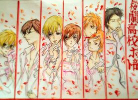 Ouran High School Host Club by CarlaMOrellana