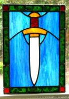 Dagger Window by bonegoddess