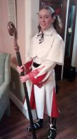 White Mage Cosplay by SlyCooperRocks101