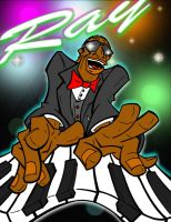 Ray Charles by comical-artist