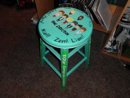 My One Direction Stool by ZANEkun