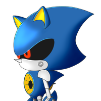 Metal Sonic by Mx-Robotnik
