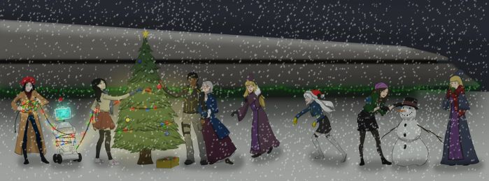 A Dawnstar Christmas by Blueoriontiger