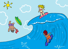 High Tide - Contest Entry by PinkuFootsie