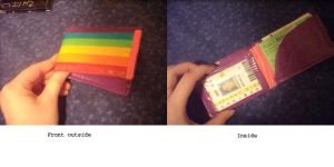 Ducttape Rainbow Wallet by xXpandaphileXx